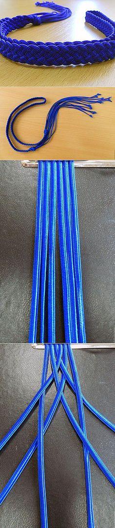 Пояс. Плетение из шнуров. Часть 1. - Ярмарка Мастеров - ручная работа, handmade