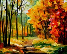 THE PATH TO THE HEART - PALETTE KNIFE Oil Painting On Canvas By Leonid Afremov http://afremov.com/THE-PATH-TO-THE-HEART-PALETTE-KNIFE-Oil-Painting-On-Canvas-By-Leonid-Afremov-Size-30-x24.html?bid=1&partner=20921&utm_medium=/vpin&utm_campaign=v-ADD-YOUR&utm_source=s-vpin