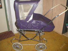 Pram Stroller, Baby Strollers, Vintage Pram, Prams And Pushchairs, Baby Carriage, Retro, Aunt, Purple, Kids Wagon