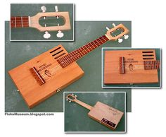 1 - Cigar Box DIY. The musical instrument