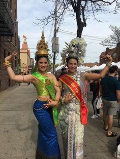 NY thai songkran festival #thaistreet #elmhurst #queensnyc🗽 #usa #thaidresscompetition#may29th,2017 #thunyatornthaidress  #makeup and hair #by @armandara2525 #beautiful #thaiaccessories #handmade #thaicloth #thaijewelry #ny #Thai dress Thai Costume at NYC https://m.facebook.com/ThunyatornThaidress/#models @mayatajai  @epeebaa  makeup hair costume @armandara2525  @thunyatorn_thaidress