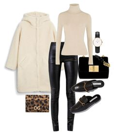 """""""Untitled #23042"""" by florencia95 ❤ liked on Polyvore featuring Monki, Helmut Lang, Alice + Olivia, Dolce&Gabbana and Daniel Wellington"""