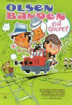 Olsen banden på sporet (1975) Egon har en plan. En køreplan.