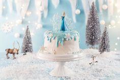 Frozen Geburtstagstorte Rezept und Anleitung zum selber zubereiten
