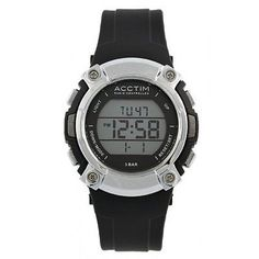 Acctim sportivo lcd sports design radio controlled #watch - #unisex - #60313,  View more on the LINK: http://www.zeppy.io/product/gb/2/201604046688/