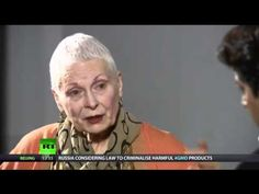 'Brainwashed by propaganda' - Vivienne Westwood on Climate Revolution, a...