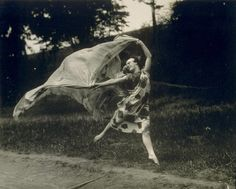 Loie Fuller (Marie Louise Fuller), 1862-1928. Pioneer in modern dance and theatrical lighting techniques.