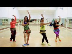 Zumba -Sheila Ki Jawani By Tees Maar Khan , Bollywood At WKM Studio - YouTube