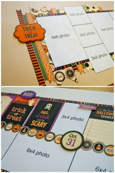 Scrapbook Generation - Trick or Treat kit by Allison Davis