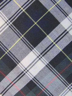 "Vintage Trendy BROOKS BROTHERS Makers Black Green White Plaid Cotton Tie 3.25"" #BrooksBrothers #Tie"