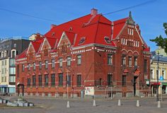The building of the Bank of Finland, Vyborg