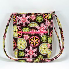 Enlarged Two Zip Hipster w/ iPad Pocket :: Dog Under My Desk. Zippered top and side pockets!!! Free!