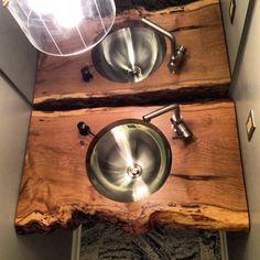 DIY slab sink modfrugal. amazing!