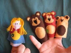 ricitos de oro y los tres osos.