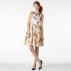 I adore this Kate Spade dress! The print is amazeballs!