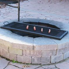 Sunnydaze X-Marks Fire Pit Cooking Grill Grate, Outdoor Rectangle BBQ Campfire Grill, Camping Cookware, 40 Inch, Black Fire Pit Grate, Wood Fire Pit, Diy Fire Pit, Fire Pit Backyard, Fire Pits, Fire Pit Cooking Grill, Campfire Grill, Cooking On The Grill, Cooking Pasta