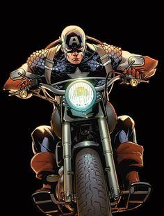 Captain America by Adam Kubert