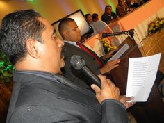 Samael Banegas y Francisco Ferrera en la constitución de la OPPDH
