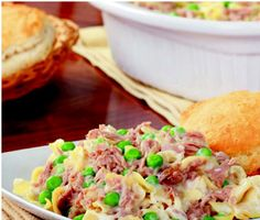 Simply Thick® Recipes - Tuna Noodle Casserole