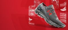 running shoe that tracks your running with built it chip.