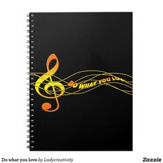 Do what you love spiral notebooks