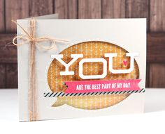 Embossed Window Card