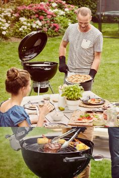 Back in stock now! The Weber Master-Touch Premium charcoal barbecue grills, roasts and smokes low and slow. Whether you're looking to sear the perfect steak, enjoy a juicy roast chicken or feast on melt-in-the-mouth pulled pork, this barbecue can do it all. The GBS Cooking grate provides infinite menu possibilities (you can easily replace standard cooking grate with pizza stone, griddle & more – accessories sold separately).  #bbq #barbecue #charcoalbbq