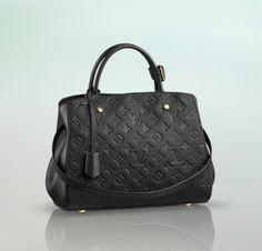 Louis Vuitton Montaigne MM in black $3250 LOVE! http://parthhappy.praiasdoporto.pt/