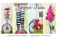 Yes and Amen Blog: Summer Faire - our new summertime online workshop