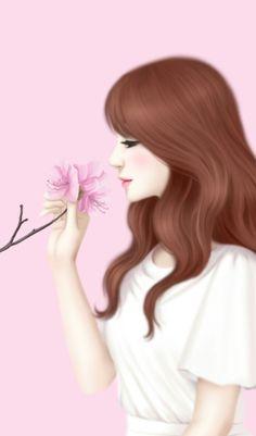 enakei uploaded by 𝐆𝐄𝐘𝐀 𝐒𝐇𝐕𝐄𝐂𝐎𝐕𝐀 👣 on We Heart It Lovely Girl Image, Girls Image, Beautiful Fantasy Art, Beautiful Anime Girl, Girls In Love, Cute Girls, Girl Cartoon Characters, Cute Girl Drawing, Girly Drawings