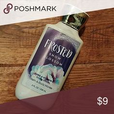 Unused B&B Works BodyLotion {Brand New, Unused} Signature Collection: Frosted Snow Blossom  Body Lotion with Shea & Vitamin E by Bath & Body Works  Not tested on Animals Bath & Body Works  Other