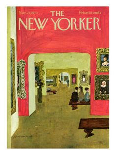 The New Yorker Cover - November 21, 1970 Poster Print  by Laura Jean Allen at the Condé Nast Collection