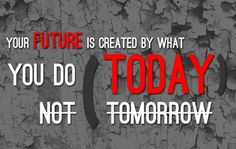 So true..today is the day! #fitnessmotivation #future #workout #fitfam  www.acceptfitness.com