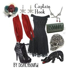 Art Disney inspired outfits - Captain Hook cute-clothes
