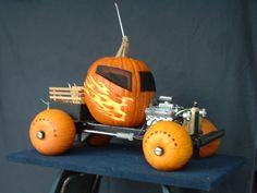 Picture of PUMPKIN TRUCK(halloween contest 2008)
