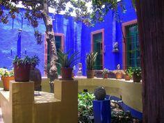 casa azul, mexico city, mexico citi, color, exterior houses