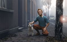 Posting this only for the clothes. :-) Tintin's dress strikes me as a cross between Payne Stewart and the Clancy Brothers. In other words, very classy. I could use elements of this.