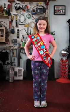 Create your own Hackerspace/Makerspace merit badge sash a-la Girlscouts. From Lady Ada.