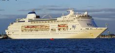Pacific Pearl, which has cruised under P&O Australia Brand, is presently considered as the oldest in the fleet. As informed, originally Pacific Pearl was launched as Stimar FairMajesty. P&o Cruises, Beautiful Sites, Trip Planning, Taj Mahal, Cathedral, Journey, Ocean, Australia, Cruise Ships