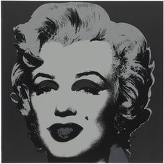 "Andy Warhol, ""Marilyn."" One plate screenprint in colors, on wove paper, 1967, signed in pencil on the reverse, stamp-numbered 177/250 (there were also 26 artist's proofs lettered A-Z), published by Factory Additions, New York, the full sheet. Sheet: 36 x 36 in."