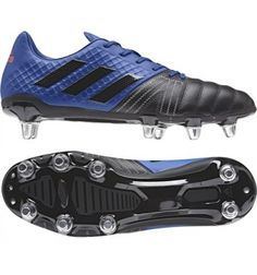 3c408b78939a Adidas Kakari Elite SG Collegiate Blue A lightweight mid range priced rugby  boot for the back
