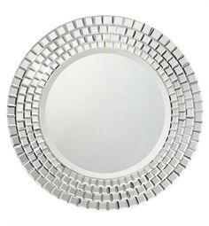 "78167 | Kichler Glimmer 30"" Diameter Circular Mirror"