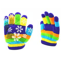 >> Click to Buy << 1 pair Gloves Autumn Winter Children Thicken Thermal Gloves Knitting Yarn Snow Boy Girl Gloves Color Ramdom #Affiliate