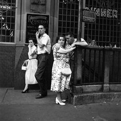 """new york 1950   VIVIAN MAIER """"1950′s New York"""" (Série de Fotos) « The Hype BR"""