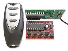 RF Remote Control 433MHz Four Channel