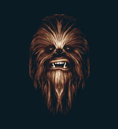 Chewbacca by Patrick Seymour, via Behance