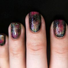 beautylish:    Galaxy nail art possibilities are as infinite as our universe! Check out how you can recreate some of our favorite galaxy nail looks on Beautylish!