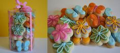 GlutenFree Mini Spring HandDecorated Cookies by semisweetdesserts, $20.00