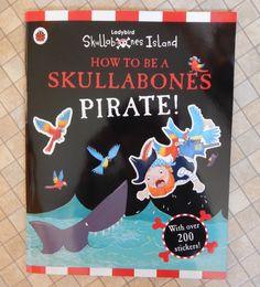 Ladybird Skullabones Island - a sticker book review - Over 40 and a Mum to OneOver 40 and a Mum to One