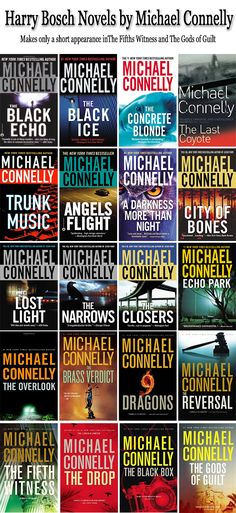 Harry Bosch series by Michael Connelly the books in order http://mysterysequels.com/harry-bosch-novels-in-order